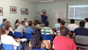 Alumnos con convenio con el ayuntamiento de Salteras