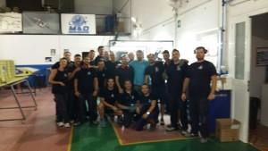 Primera promoción de los cursos de montadores en el Puerto de Santa María
